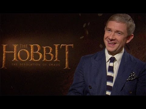 Benedict Cumberbatch - The Hobbit interviews: Martin Freeman, Evangeline Lilly & Benedict Cumberbatch Subscribe to the Guardian HERE: http://bitly.com/UvkFpD Martin Freeman, Evange...