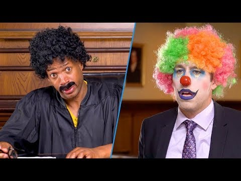 Judge Willy vs The Clown | Marlon Wayans