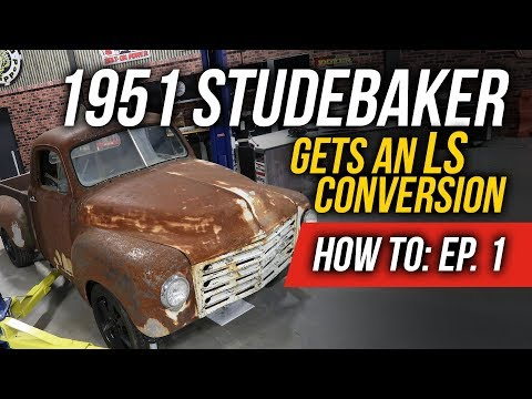 How To Install a Sniper EFI Fabricated Intake - EP. 1: 1951 Studebaker Truck LS Conversion