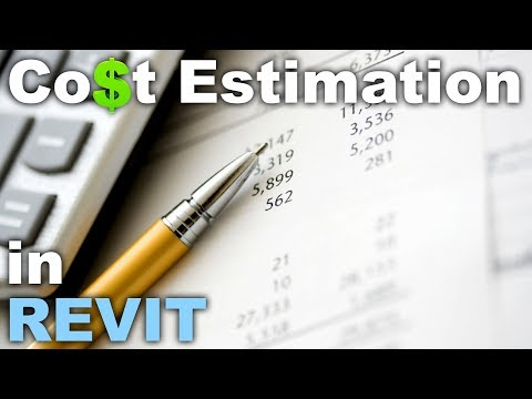 Cost Estimation (calculation) in Revit Tutorial