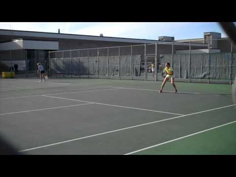 9-15-11 | WTEN vs. UW-Stout - Clip of Gretchen Bachmeier