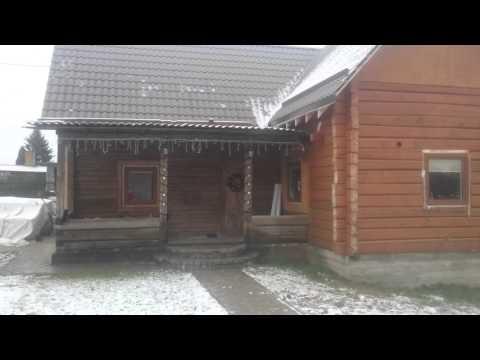 Утепление деревянного дома каменной ватой снаружы #1
