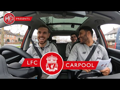 LFC Carpool is back: Hendo, Ox and Robbo take MG's new electric car for a spin