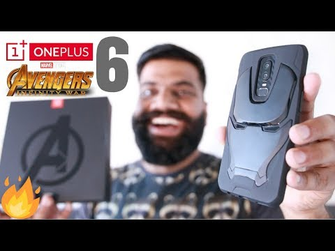 OnePlus 6 Avengers Edition Unboxing and First Look - Powerful Beauty!! 🔥🔥🔥 (видео)