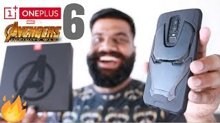 Video OnePlus 6 Avengers Edition Unboxing and First Look - Powerful Beauty!! 🔥🔥🔥 MP3, 3GP, MP4, WEBM, AVI, FLV Mei 2018