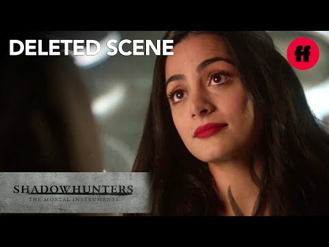 Shadowhunters Season 3 Deleted Scene   Izzy Defends Alec   Freeform