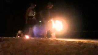 Koh Samet Thailand Fire Show
