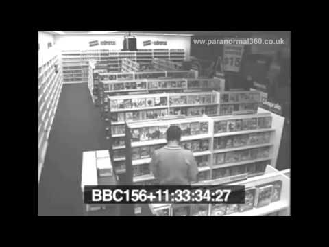 Ghost Caught On Camera In Blockbuster Video Shop