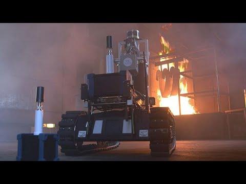 Ντόρτμουντ: Ένα νέο ρομπότ στην υπηρεσία της πυροσβεστικής…