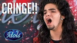 Video TOP 5 Cringiest Audition Videos On American Idol | Idols Global MP3, 3GP, MP4, WEBM, AVI, FLV Maret 2019