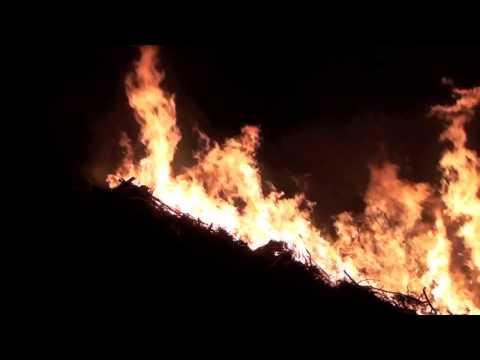 2010年の山北の焼畑:Burn agriculture in Japan @ Sanpoku Niigata Prefecture