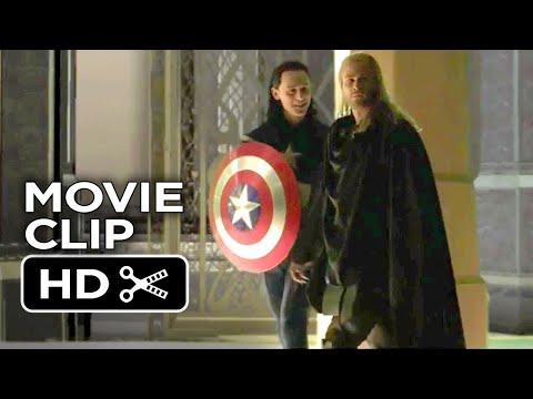 Thor: The Dark World: Loki as Captain America Deleted Scene Bonus Feature - Tom Hiddleston