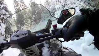 4. Boondocking with SKI-DOO EXPEDITION & TUNDRA part 1: The closed Trail.