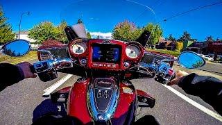 1. 2017 Indian Roadmaster Test Ride!! - Beautiful Elegance! | BikeReviews