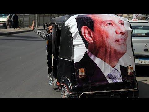 Αίγυπτος: Επανεκλογή Σίσι με ποσοστό πάνω από 90%