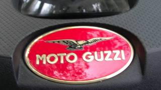 10. 2011 Moto Guzzi Stelvio 1200 NTX walk around and onboard