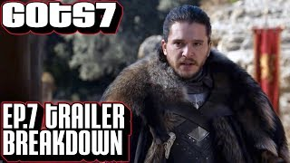 Game of Thrones season 7 episode 7 trailer breakdown. In-depth look at the new teaser trailer for the season finale of Game of ...