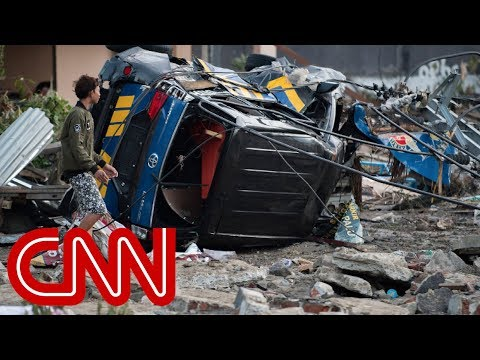 Massive Earthquake, Tsunami Kill Hundreds In Indonesia