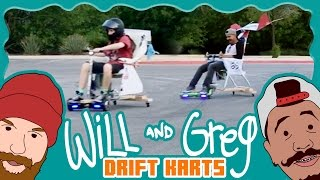 Video Will & Greg Show: Custom Drift Karts (Ep. 3) MP3, 3GP, MP4, WEBM, AVI, FLV September 2018