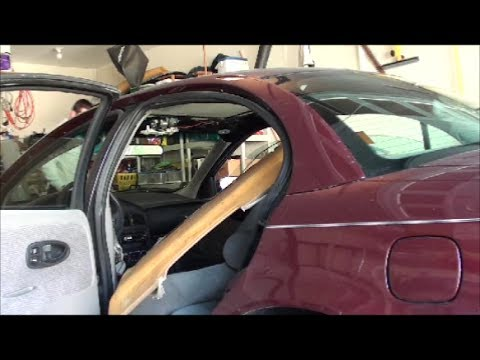 00-02 Saturn S-Series headliner removal