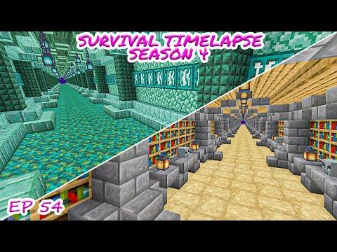 I Designed Two New Tunnels! | Minecraft Survival Timelapse Season 4 Episode 54
