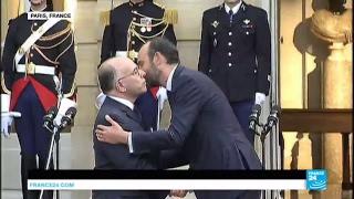 Video REPLAY - Passation de pouvoirs entre Bernard Cazeneuve et Edouard Philippe, nouveau Premier ministre MP3, 3GP, MP4, WEBM, AVI, FLV Juli 2017