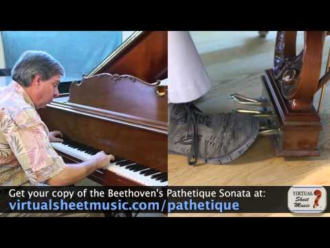 How to Use the Pedal on the Piano - Part 3