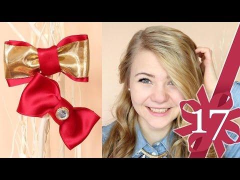 DIY Schleifen – Weihnachts Edition + Magnolia Adventskalender!