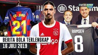Download Video Ibrahimovic Pulang Ke Ajax 😱 RESMI De Jong Pakai No 21 & Ramsey Pakai No 8 🔥 Berita Bola Terbaru MP3 3GP MP4