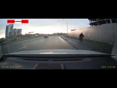 Авария с переворотом в Екатеринбурге