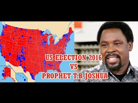 Trump has banned T B Joshua from America Over Failed Prophecy