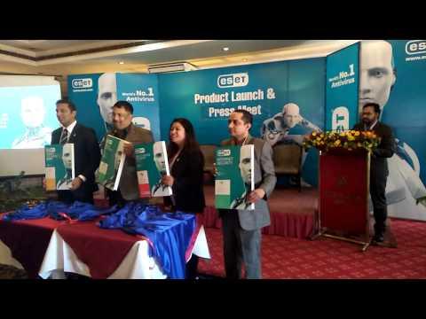 (Product Launch & Press Meet of Eset Antivirus of Nepal - Duration: 51 seconds.)