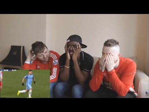 Manchester United fans React To: Manchester City vs Monaco 5-3 All Goals & Highlights 21.2.2017