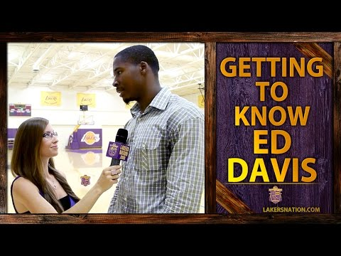Video: Ed Davis Lakers Nation Interview: One On One With The New Laker