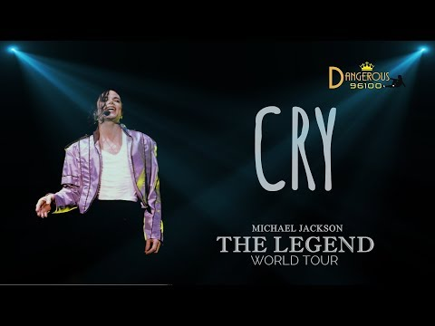 Michael Jackson - Cry - The Legend World Tour