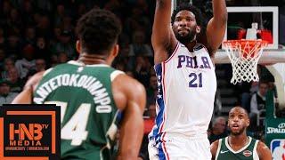 Milwaukee Bucks vs Philadelphia Sixers Full Game Highlights | March 17, 2018-19 NBA Season