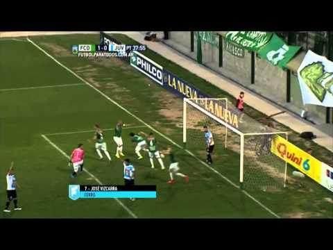 Gol de Vizcarra. Ferro 1 – Juventud 0. Fecha 31. Primera B Nacional 2015. FPT.
