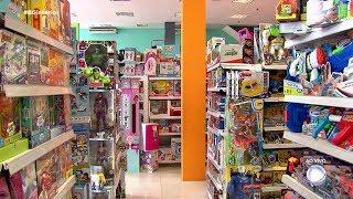 Atenção na hora de comprar brinquedos para as crianças