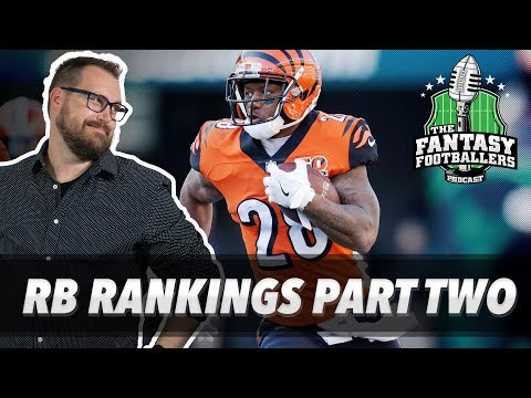 Fantasy Football 2018 - REAL Preseason Takeaways + RB Rankings, Jason's Mixon Love - Ep. #582