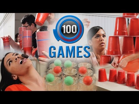 Minute to Win It: 100 Party Games | The Ultimate List (видео)