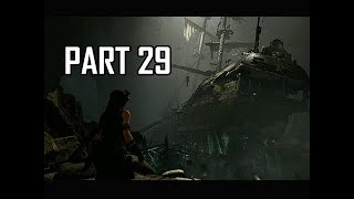 Shadow of the Tomb Raider Walkthrough Part 29 - Sunken Ship (Let's Play Gameplay Commentary)