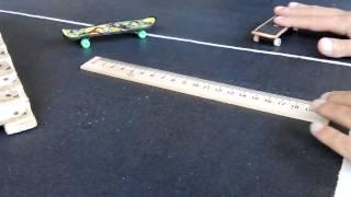 Как сделать ollie на фингерборде