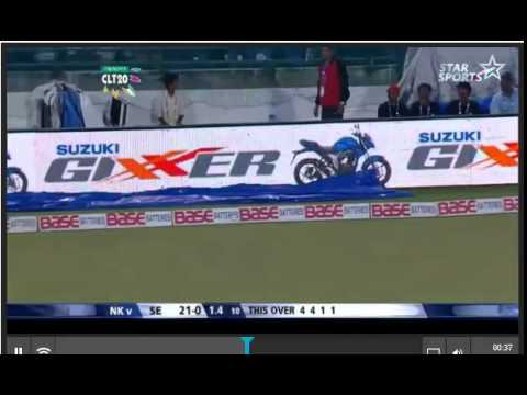 Gazi's wicket, 2nd Test, Day 1, Sri Lanka vs Bangladesh, 2013