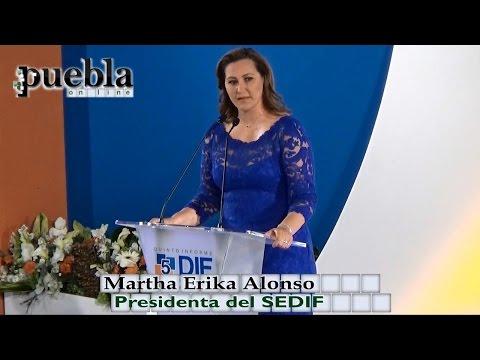 Quinto Informe de Actividades: Martha Erika Alonso