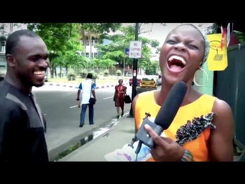 Nigeria: Funny Street Quiz! (Prize: N100 Recharge Card!)