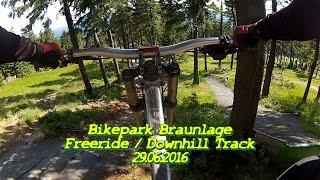 Video Bikepark Braunlage Freeride / Downhill Track 29.06.2016 MP3, 3GP, MP4, WEBM, AVI, FLV Mei 2017