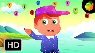 Number Rhymes  - English Nursery Rhymes - Animated/ Cartoon Songs For Kids