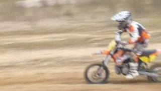 8. Entrainement mars 2008 ktm 65