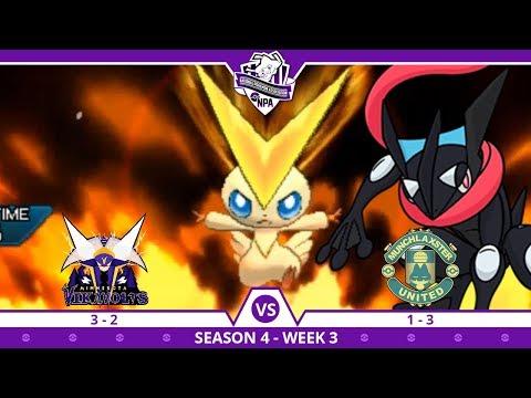 DOWN TO THE SCARF   Minnesota Vikavolts VS Munchlaxster United NPA S4 W6    Pokemon Ultra S/M (видео)