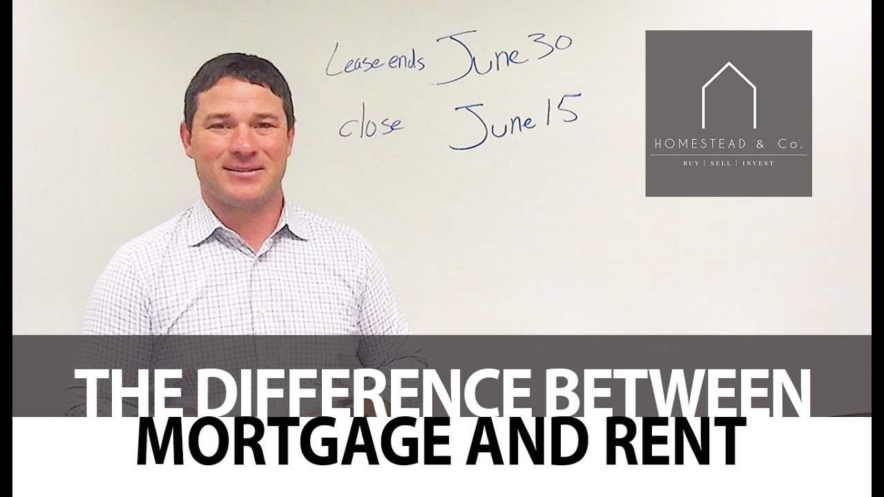 The Difference Between When Mortgages and Rents Are Paid